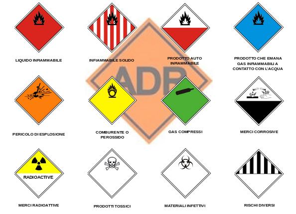 lista di rifiuti pericolosi - ADR - certificazioni dei mezzi di Gruppo Spaggiari