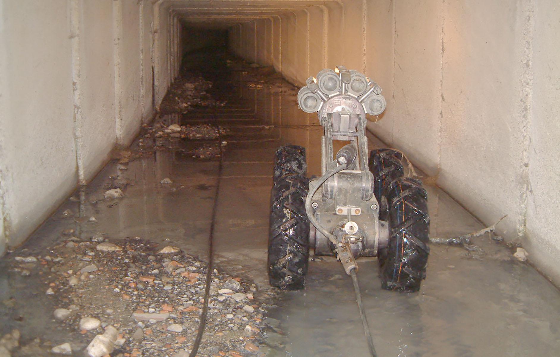 controllo fognature e ispezioni con rover - videoispezione di Gruppo Spaggiari